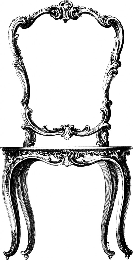 Fancy French Chair Image