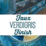 Faux Verdigris Finish