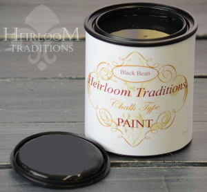 Heirloom-Traditions-Chalk Type Paint Black Bean