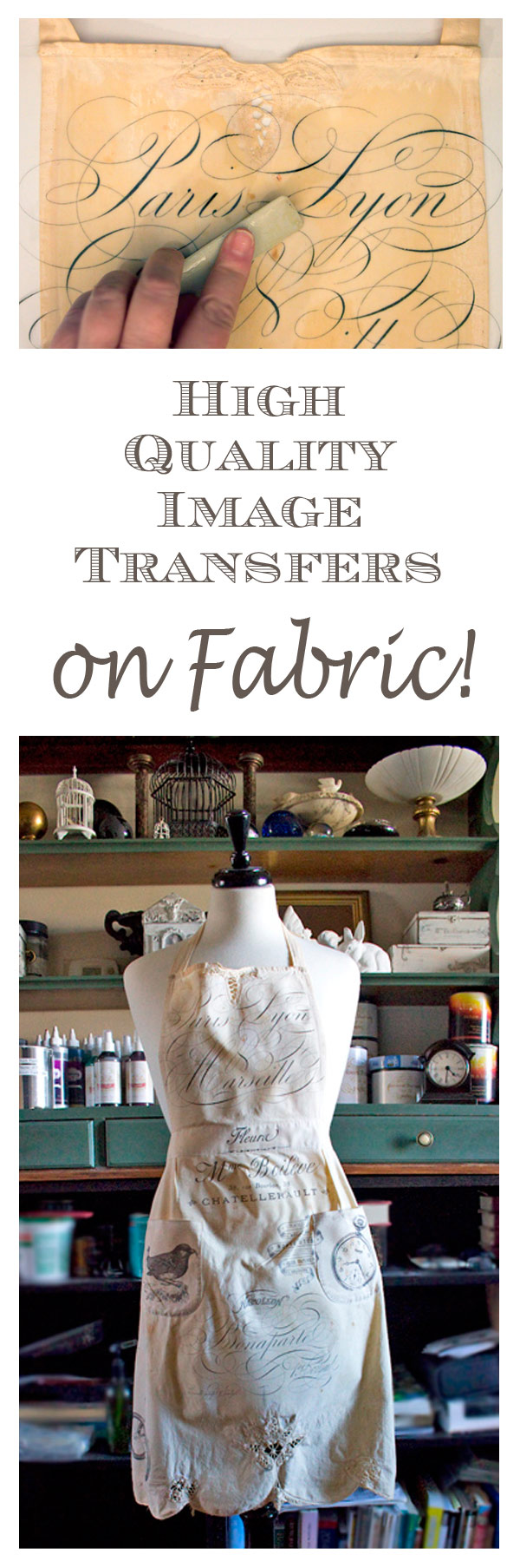 Image Transfers on Fabric - Thicketworks for Graphics Fairy
