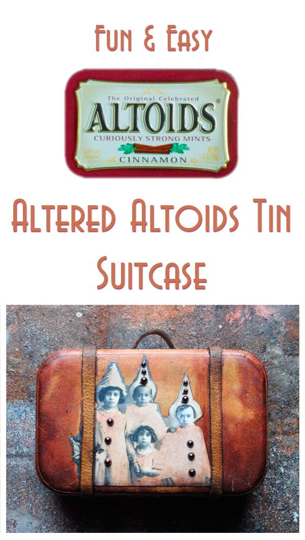 Altered Altoids Tin
