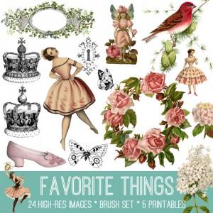 Favorite Things Image Kit