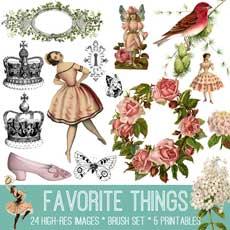 Favorite Things Image Kit! TGF Premium