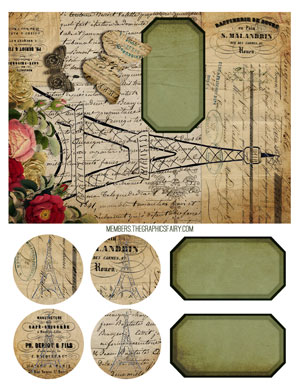 french_journal_cover_graphicsfairy