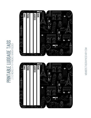 luggage_tags_bw_graphicsfairy