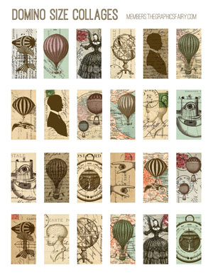 steampunk_domino_collage_sheet_graphicsfairy