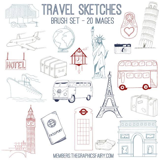 travel_sketches_brushes_graphicsfairy
