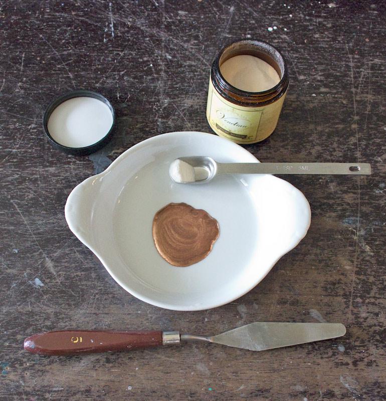 05 Create-an-Aged-Copper-Finish-Oak-Table-Copper-Mine