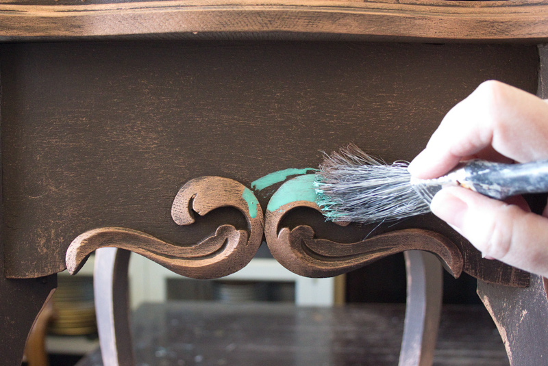 Create An Aged Copper Finish
