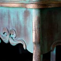 18-Create-an-Aged-Copper-Finish-Oak-Table-Corner-Details