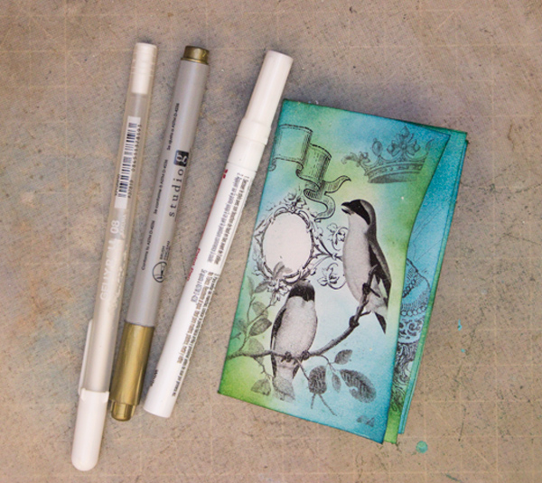 18 Printable-Mini-Book-Thicketworks-for-The-Graphics-Fairy-Detail-with-Pens