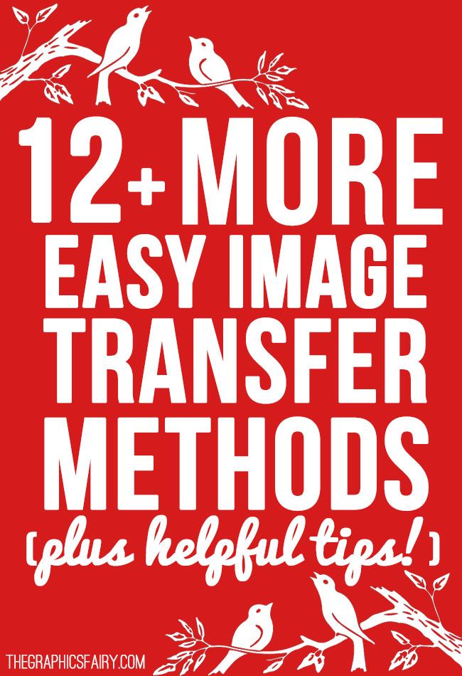 Easy Image Transfer Techniques