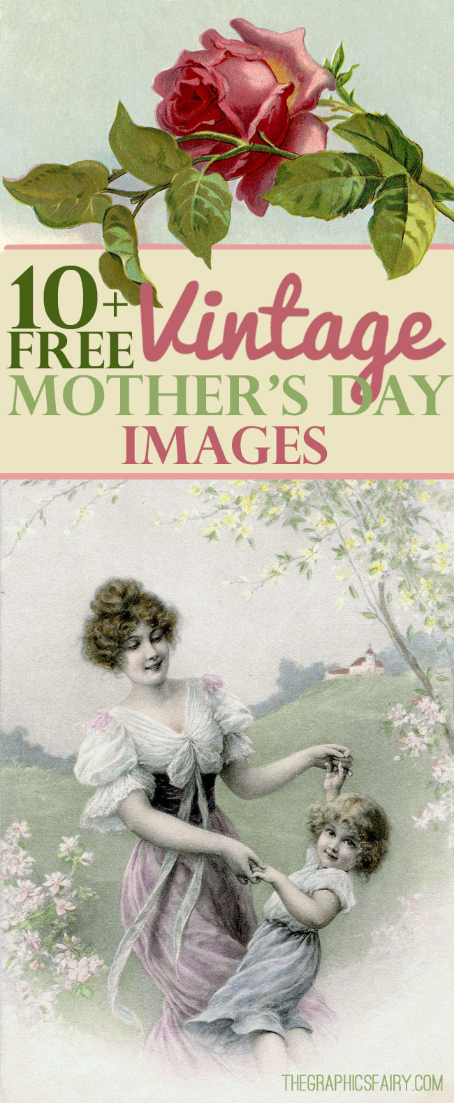 Free Vintage Mother's Day Images