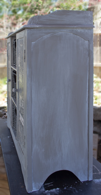 French-Grey-Aged-Patina-Finish-Complete