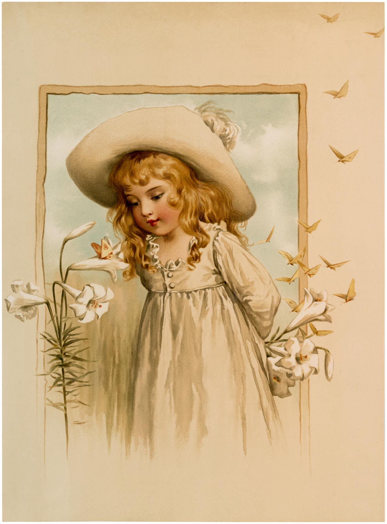 Gorgeous Little Girl Image
