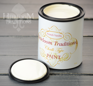 Heirloom Traditions Chalk Type Paint French Vanilla