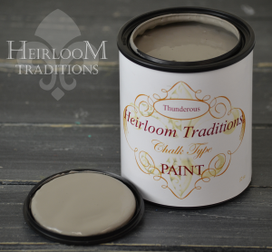 Heirloom Traditions Chalk Type Paint Thunderous