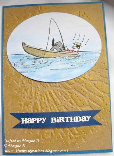 Handmade Retro Dad Birthday Card Reader Feature The Graphics Fairy