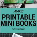 Make Printable Mini Books
