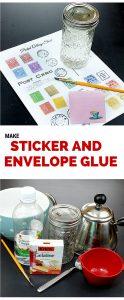 How to Make Envelope & Sticker Glue