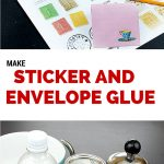 How to Make Envelope & Sticker Glue