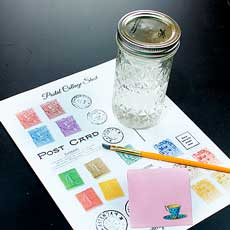 How to Make Envelope & Sticker Glue!