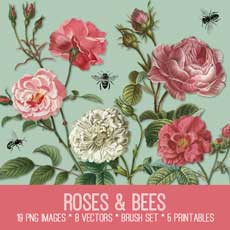 bee_rose_thm-graphicsfairy