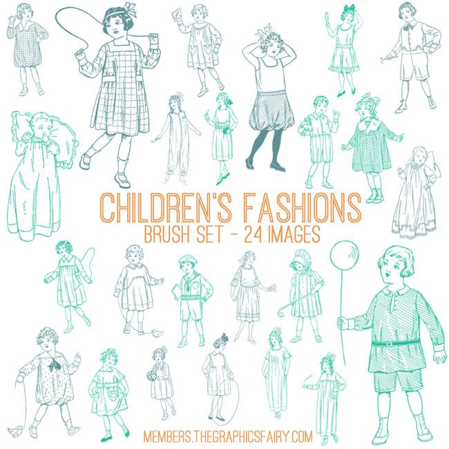 child_fashion_brushes_graphicsfairy