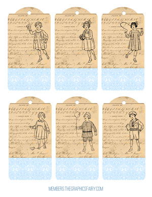 children_tags_blue_graphicsfairy