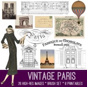 Vintage Paris Kit