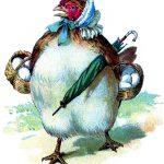Funny Hen with Eggs Image