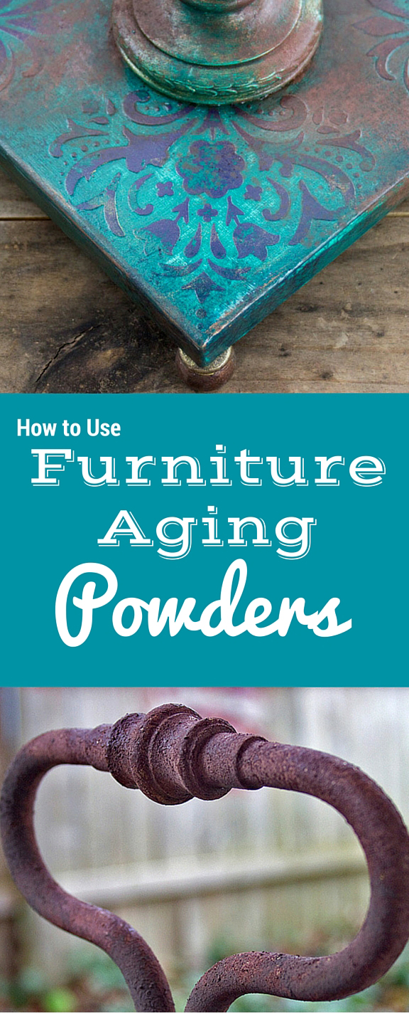 How to dust furniture - How To Use Furniture Aging Powders