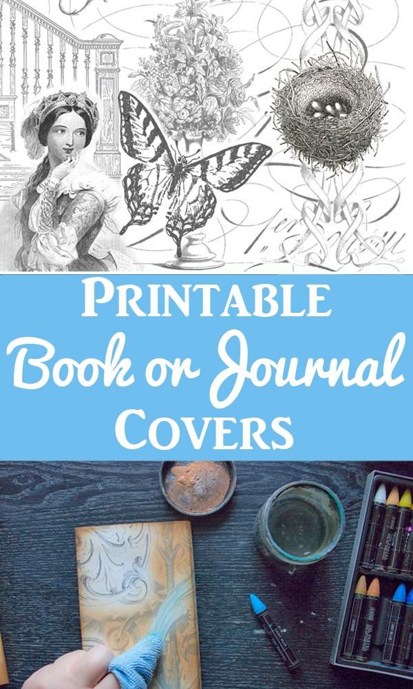Make Printable Book Covers