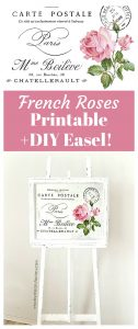 Shabby French Roses Furniture Transfer