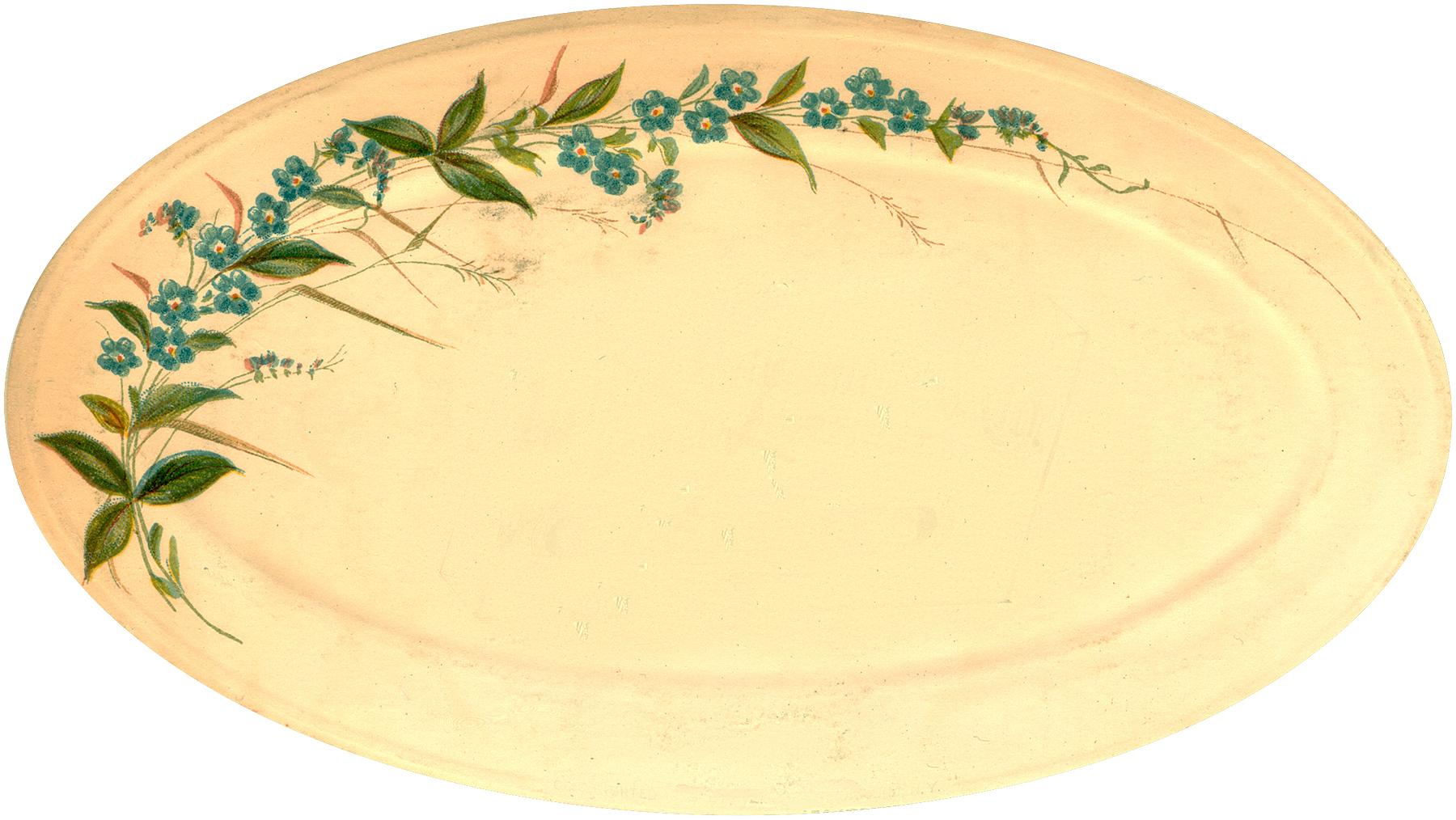 Vintage China Platter Image