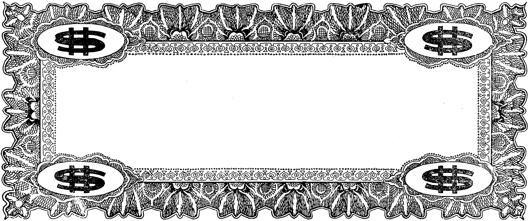 Vintage Coupon Frame Image! - The Graphics Fairy
