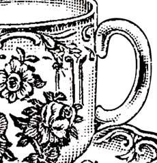 Vintage Floral Teacup Picture!