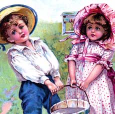 Vintage Jack and Jill Picture!