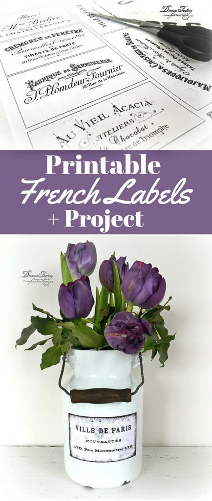 Printable French Labels