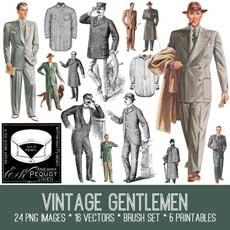 Vintage Gentlemen Bundle! TGF Premium Membership Kit
