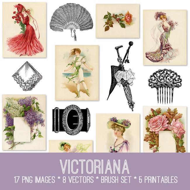 Victoriana Image Kit
