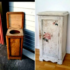 Refinished French Cabinet – Reader Feature