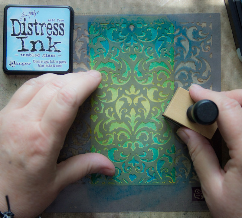 Fun Distress Ink Techniques Learn A Trick Or Two