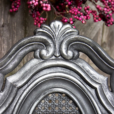 Antique Painted Furniture – Old World Silver Finish