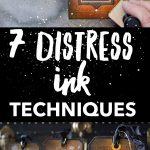 Distress Ink Techniques