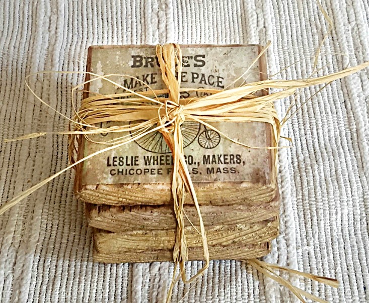 DIY Father's Day Coasters
