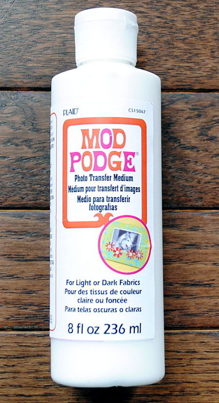 Mod Podge Photo Transfer Medium