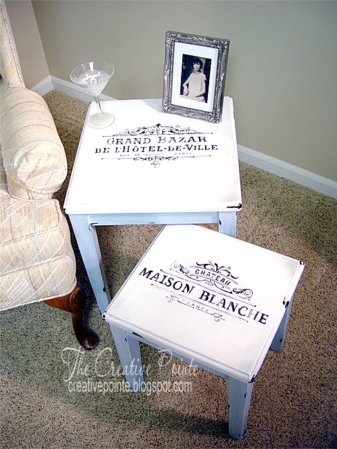 DIY French Nesting Tables - Reader Feature