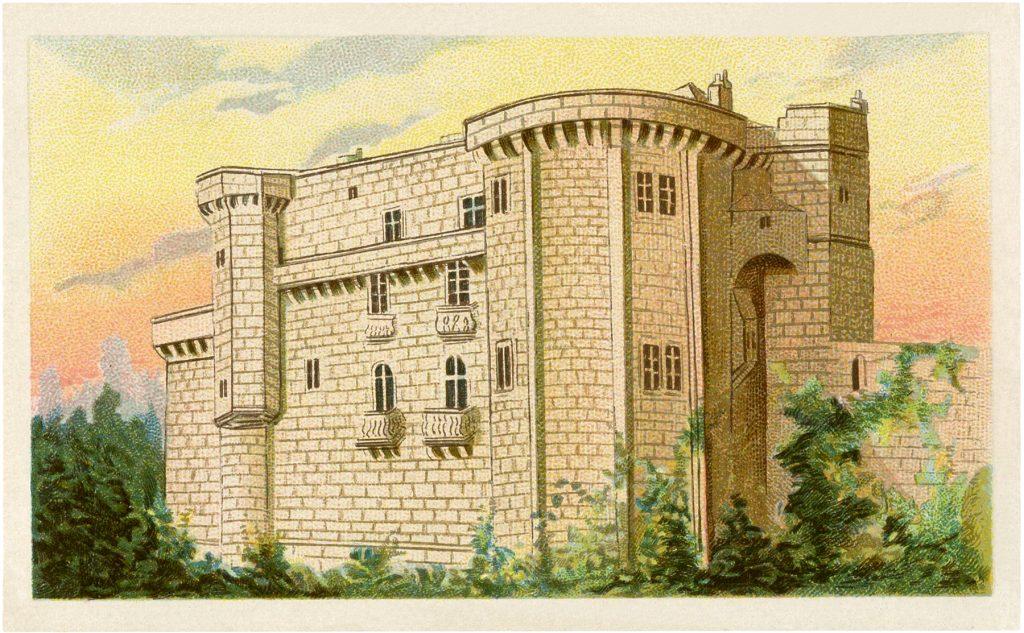 Vintage Castle Image