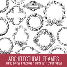 Architectural Frame Image Kit – TGF Premium Membership!